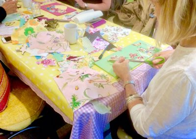 Adult Scrapbook Session, The Green Shed
