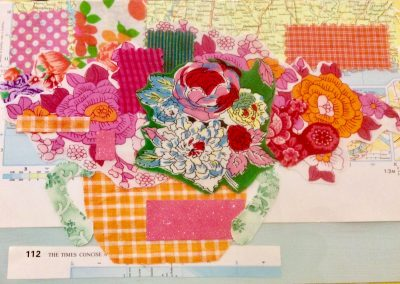 Vintage Fabric, Adult's Collage