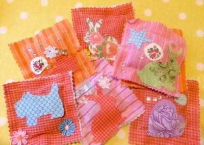 Vintage Fabric Lavender bags