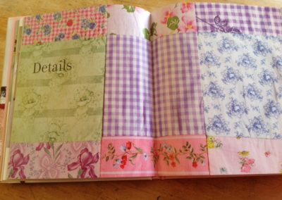 """One of my patchwork quilts in Selina Lake's book """"Pretty Pastel Style"""""""